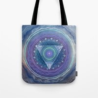 Ajna Third Eye Chakra Tote Bag