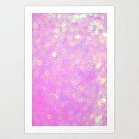 Bubblicious Pink Art Print