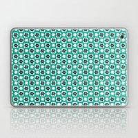 Emerald flower Laptop & iPad Skin