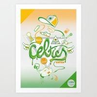 CELTICS Art Print
