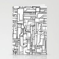 Electropattern(B&W) Stationery Cards