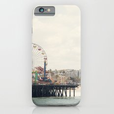 Santa Monica Pier. Happy Birthday Pacific Park!  iPhone 6 Slim Case