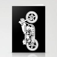Honda CB750 - Café Race… Stationery Cards