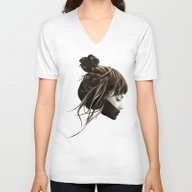 Unisex V-Neck featuring This City by Ruben Ireland