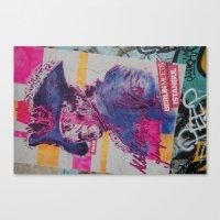 Berlin Tacheles Art Canvas Print
