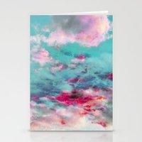 dreamy skyscape Stationery Cards