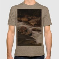 Rivers Of Living Water Mens Fitted Tee Tri-Coffee SMALL