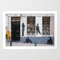 Brussels 7 Art Print