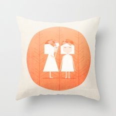 Whispering Secrets Throw Pillow