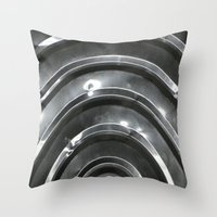 Shiny Objects Throw Pillow