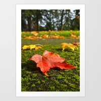 Autumn nostalgia Art Print