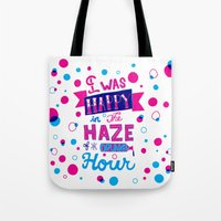 Drunken Hour Tote Bag