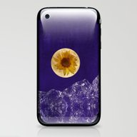 Sunflower Moon iPhone & iPod Skin