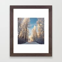 Let There Be Light - Fro… Framed Art Print