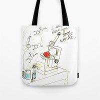 I Don't Know How Love Wo… Tote Bag