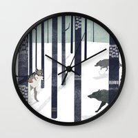 Us and Them Wall Clock