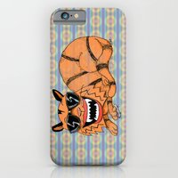iPhone & iPod Case featuring Kickflip Cat by Mike Oncley
