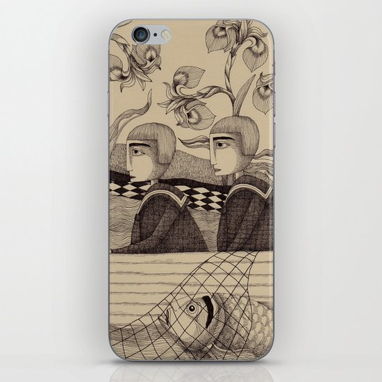 The Golden Fish (2) iPhone & iPod Skin