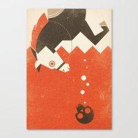 Waterhorse (Fairy And Fo… Canvas Print