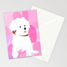 Bichon Frise Dog Stationery Cards