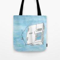 Tsunami House Tote Bag