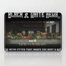 The Black & White Last Supper iPad Case
