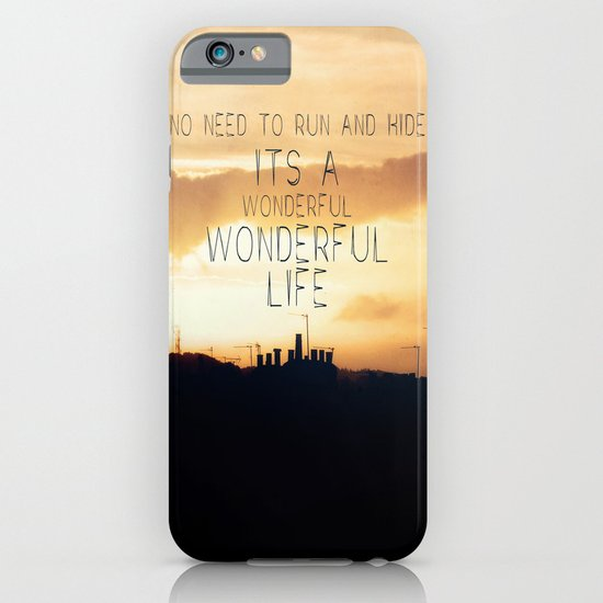 It's A Wonderful Life iPhone & iPod Case