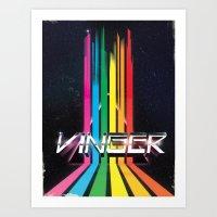 Vinger Art Print