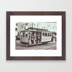 CableCar Framed Art Print