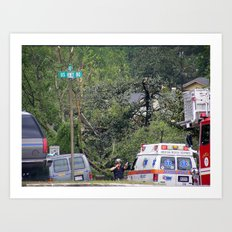 Post Tornado Art Print