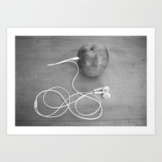 Wrong Apple Art Print