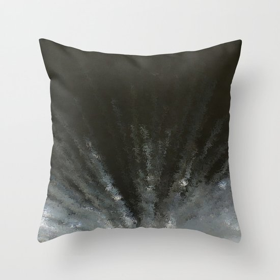 Flash in the night Throw Pillow