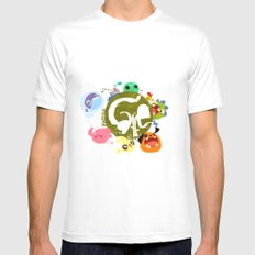 CARE - Love Our Earth Mens Fitted Tee White SMALL