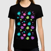 Monsters Womens Fitted Tee Black SMALL