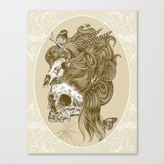 Formal portrait Canvas Print