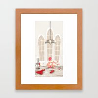 Nail Polish Framed Art Print