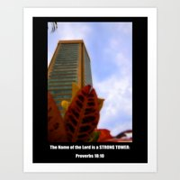 Strong Tower Poster Art Print