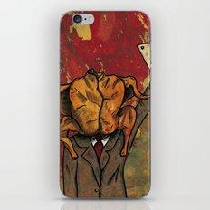 Pavomán (turkeyman) iPhone & iPod Skin
