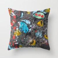 Unearth  Throw Pillow