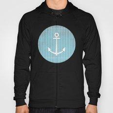 Anchor in Blue Hoody