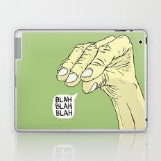 Blah Blah Blah Laptop & iPad Skin