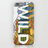 iPhone & iPod Case featuring The Wildz by David Stanfield
