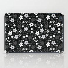 Black & White Floral iPad Case