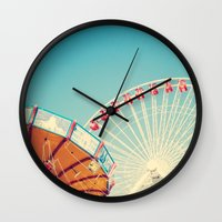 Lazy Afternoon of Fun Wall Clock