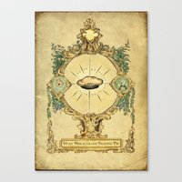 The holy miraculous talking pie Canvas Print