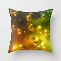 Bubbles! Throw Pillow