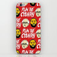 Run The Country iPhone & iPod Skin