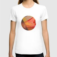 T-shirt featuring Orange flow by Sonia Garcia