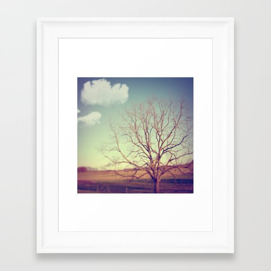 Given To Dreams Framed Art Print