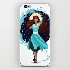 The Waterbender iPhone & iPod Skin